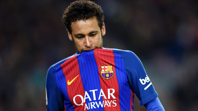 Neymar está arrepentido de irse de Barcelona