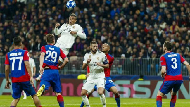 Real Madrid vs. CSKA Moscú
