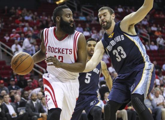 Memphis Grizzlies Houston Rockets