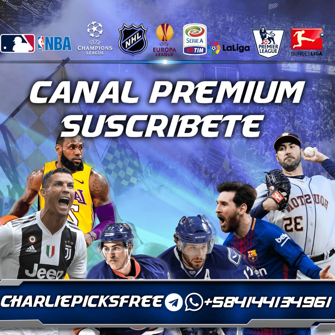 Canal Free Telegram @charliepicksfree /Sports Betting